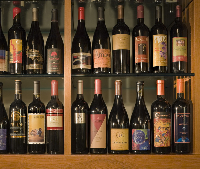Trellis Restaurant - Wine Wall by heathmankirkland, on Flickr