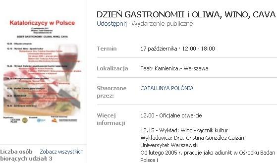 Warszawa Katalonia Cava